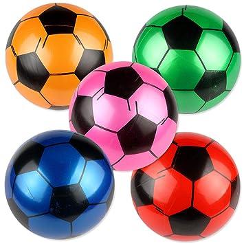 Fußball aufblasbar ca Kinderbadespaß 22cm Durchmesser aus PVC