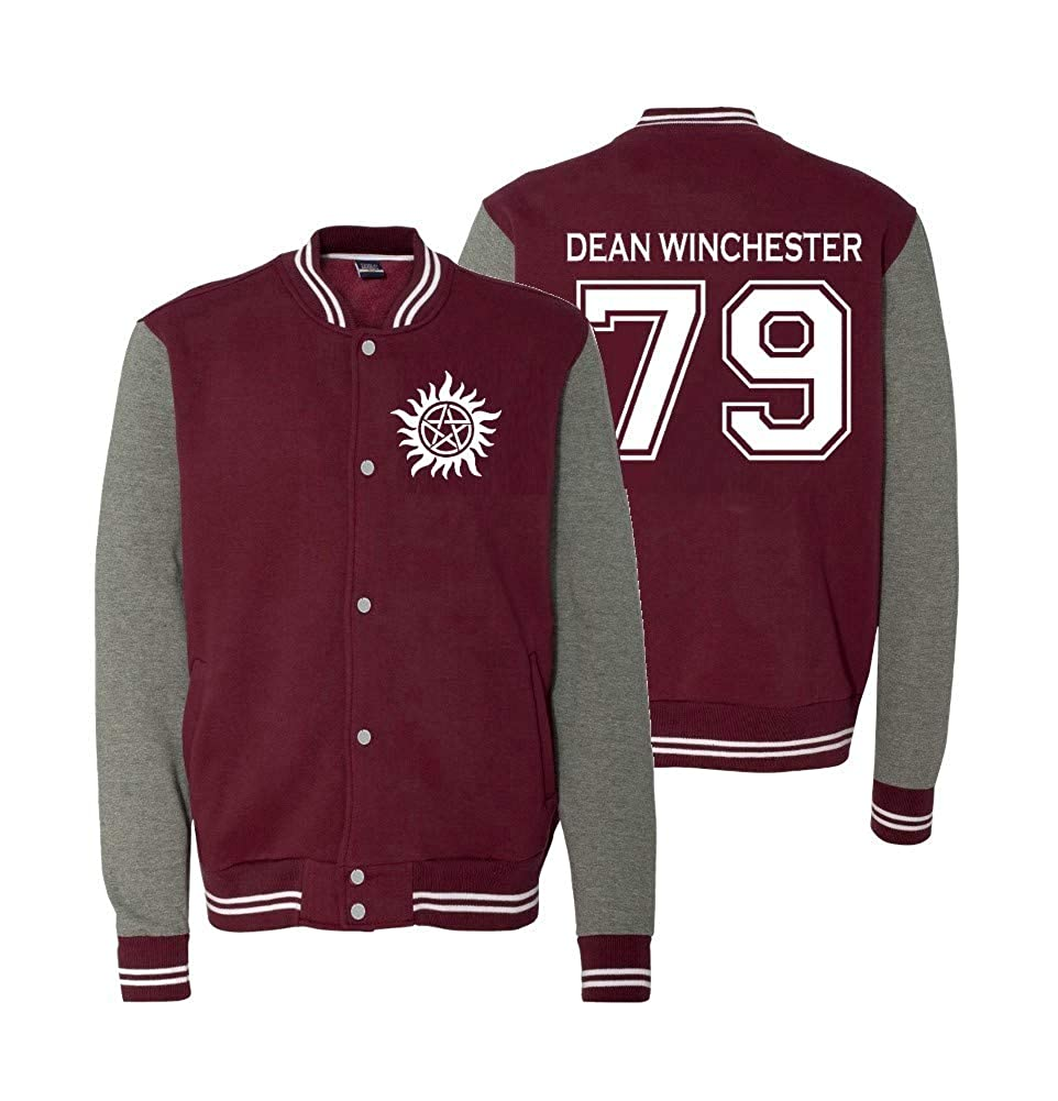 Adult Dean Winchester Sweatshirt Jacket