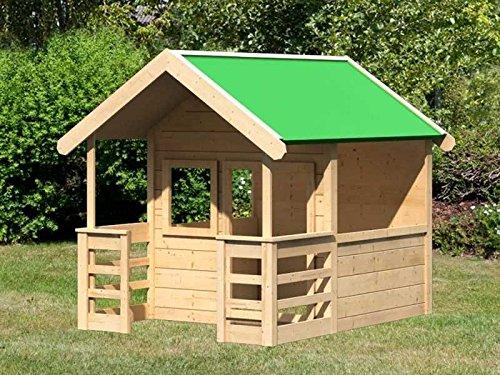 Karibu Spielhaus mit Ranch Mila natur