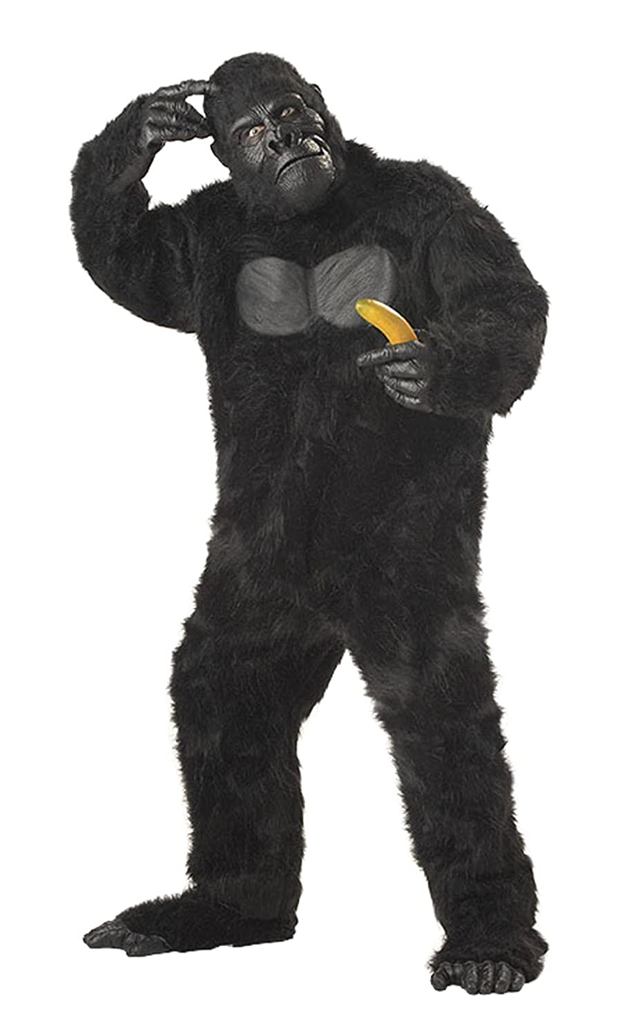 Amazon.com: California Costumes Men's Adult-Gorilla, Black ...