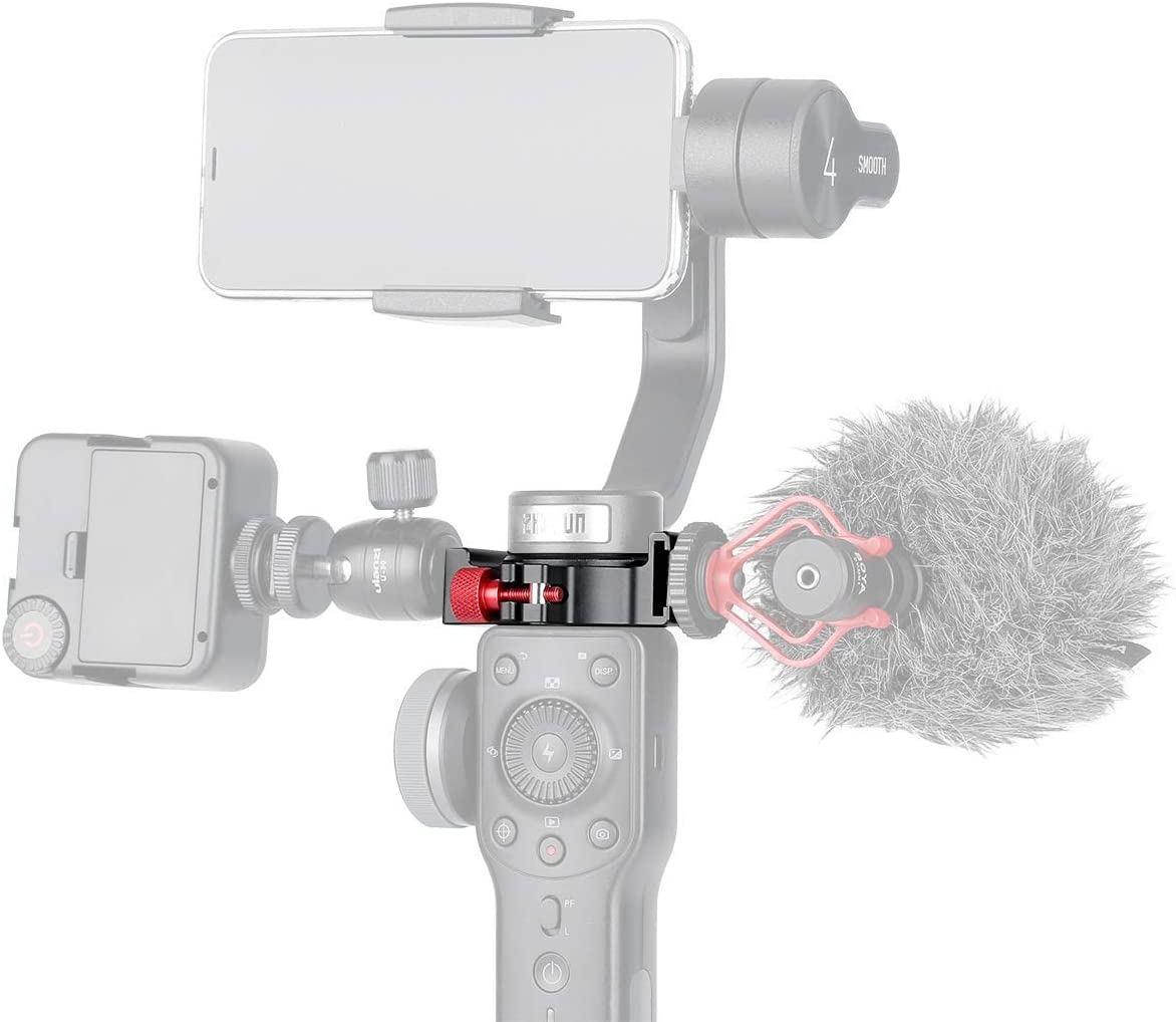 Microphone Mount Hot Shoe Adapter for EVO PRO or Zhiyun Smooth 4 Gimbal