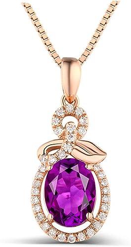 collier fantaisie femme violet