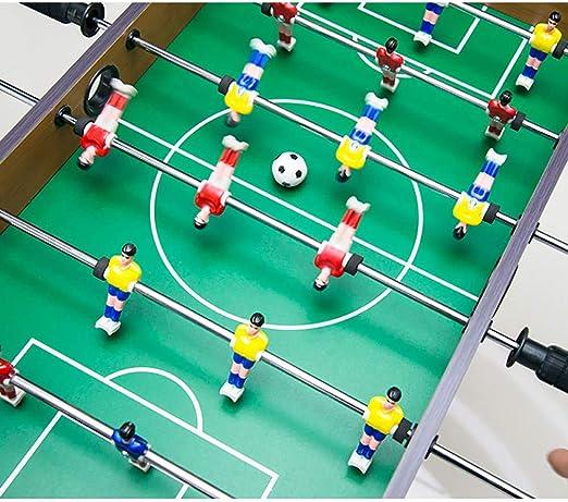 MJ-Games Mini Jugadores de futbolín/futbolín, Juego de Interior ...