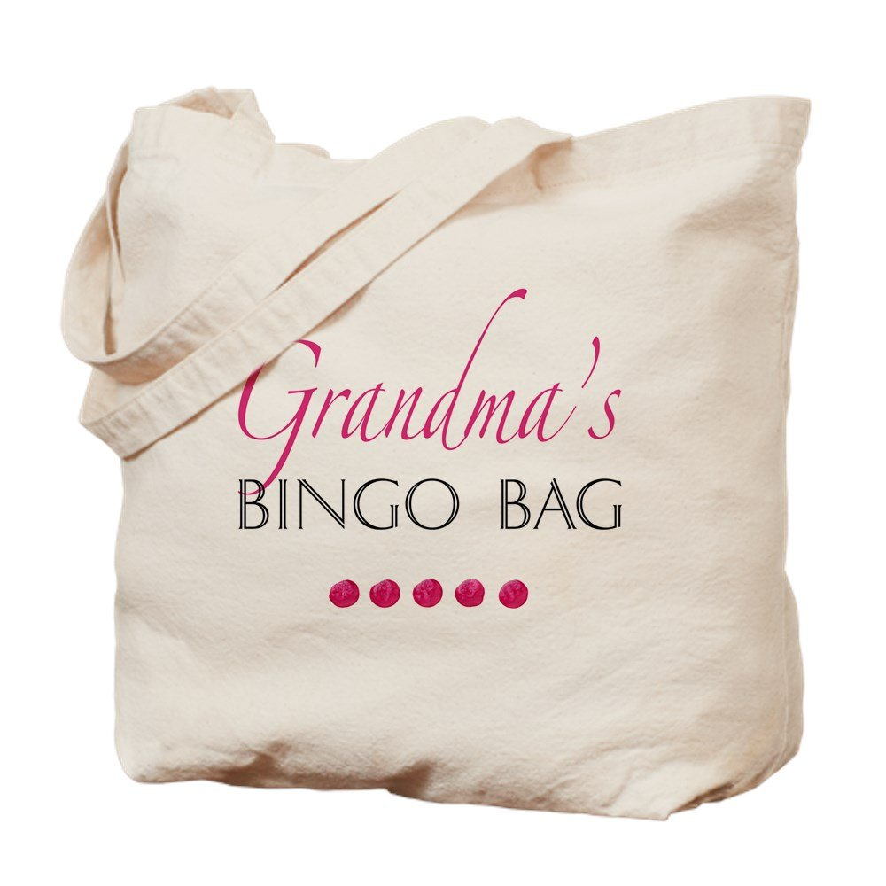 CafePress - Grandma's Bingo Bag - Natural Canvas Tote Bag, Cloth Shopping Bag by CafePress