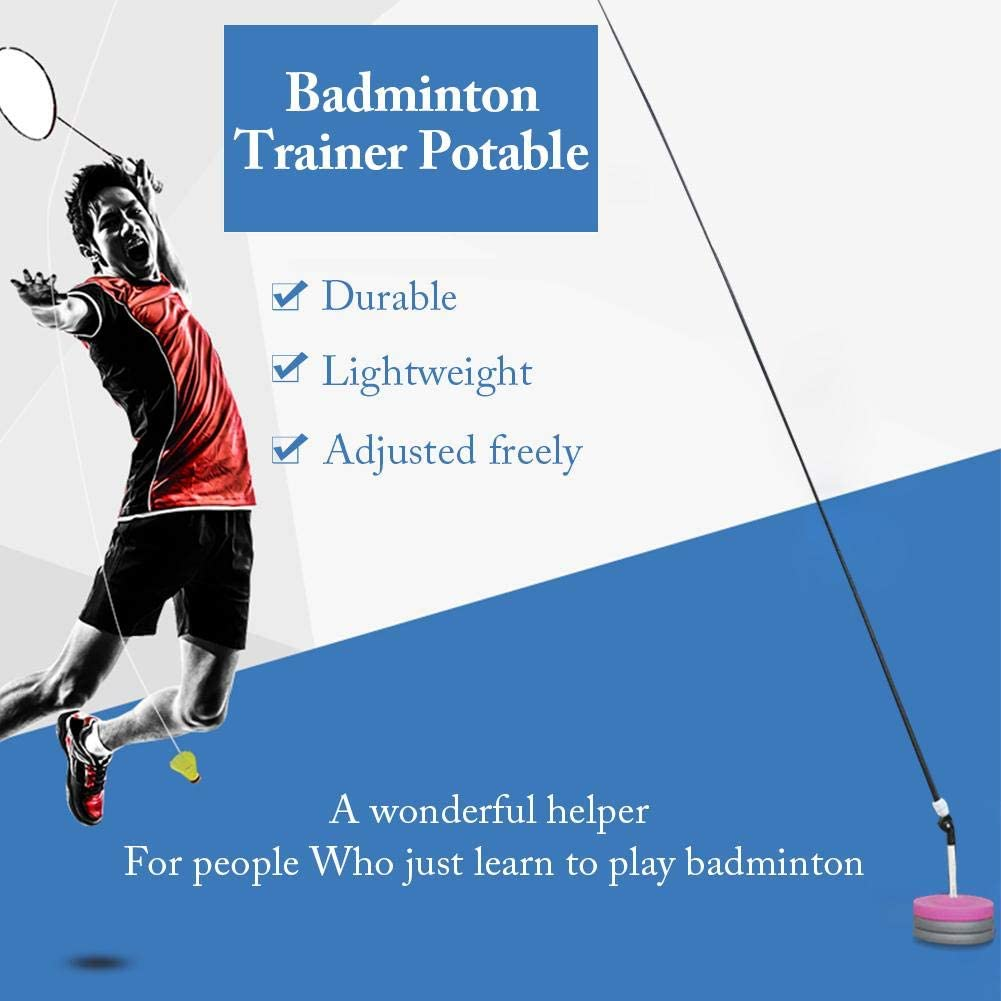 Amazon.com : Activane Badminton Trainer Device Portable ...