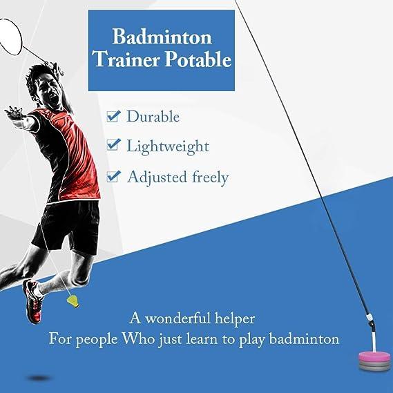 Amazon.com: Single Badminton Trainer,LianLe Portable ...
