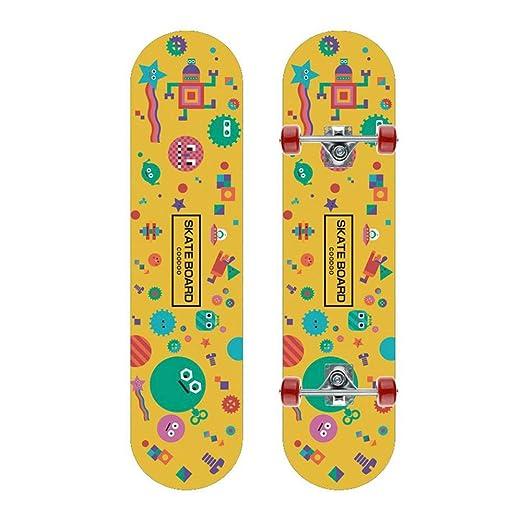 Geggur Tricks Skateboards para Adolescentes, monopatín de ...