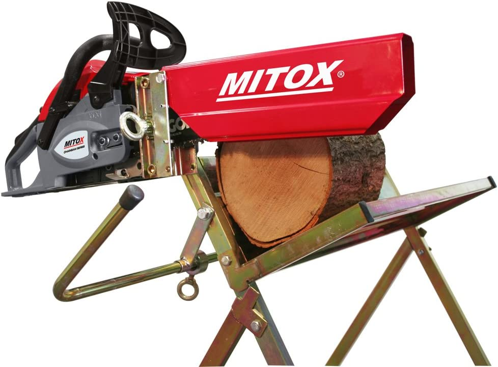 Mitox MISHH - Saw Caballo Con La Motosierra Holder