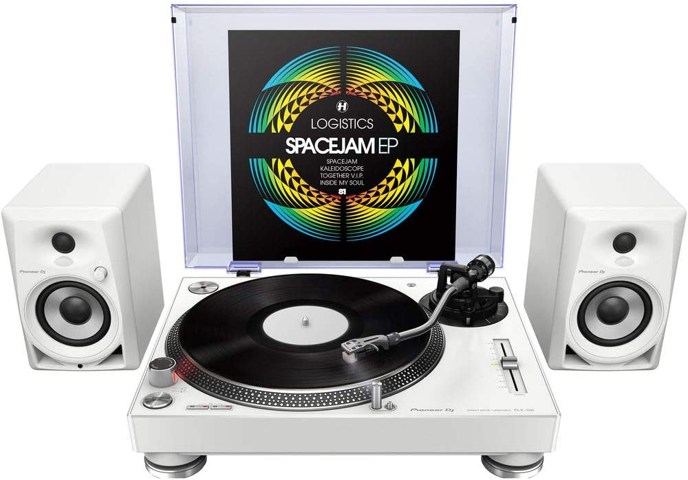 Amazon.com: Pioneer, DJ PLX-500-W, tocadiscos de giro ...
