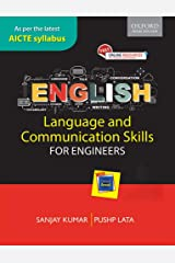 English Language and Communication Skills for Engineers: As per the latest AICTE syllabus Paperback