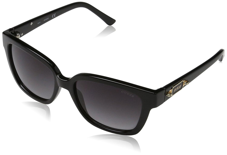 Guess GF6014_01B, Gafas de sol para Mujer, Negro (Nero) 55