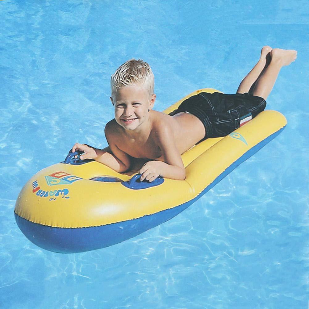 Tabla de Surf Colchoneta Flotante Gigante Piscina Inflable Playa de Verano Balsa de natación Juguete con Asas para niños