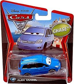 Disney Pixar Cars 2 Movie 155 Die Cast Car Alex Vandel 45 Chase