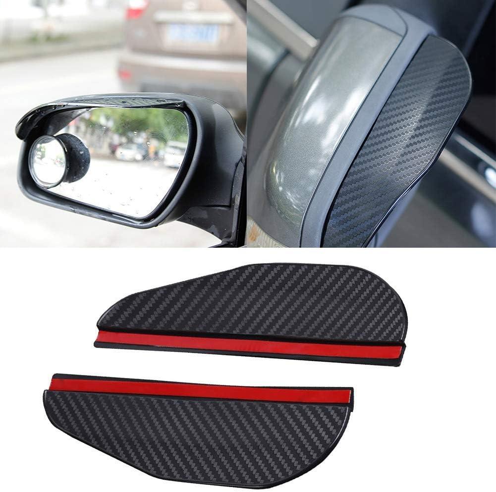 Lastwagen und SUV Matedepreso 1 Paar R/ückansicht Seitenspiegel Regen Augenbrauen Abdeckung R/ückspiegel Visier Schutz f/ür die Meisten Auto