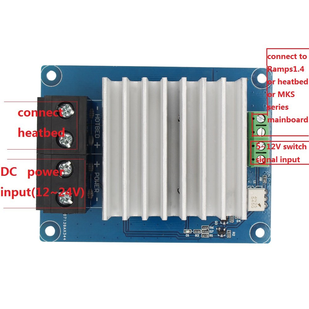 61jMKB%2BvJmL._SL1000_ amazon com trigorilla 3d printer heating controller mks mosfet  at fashall.co