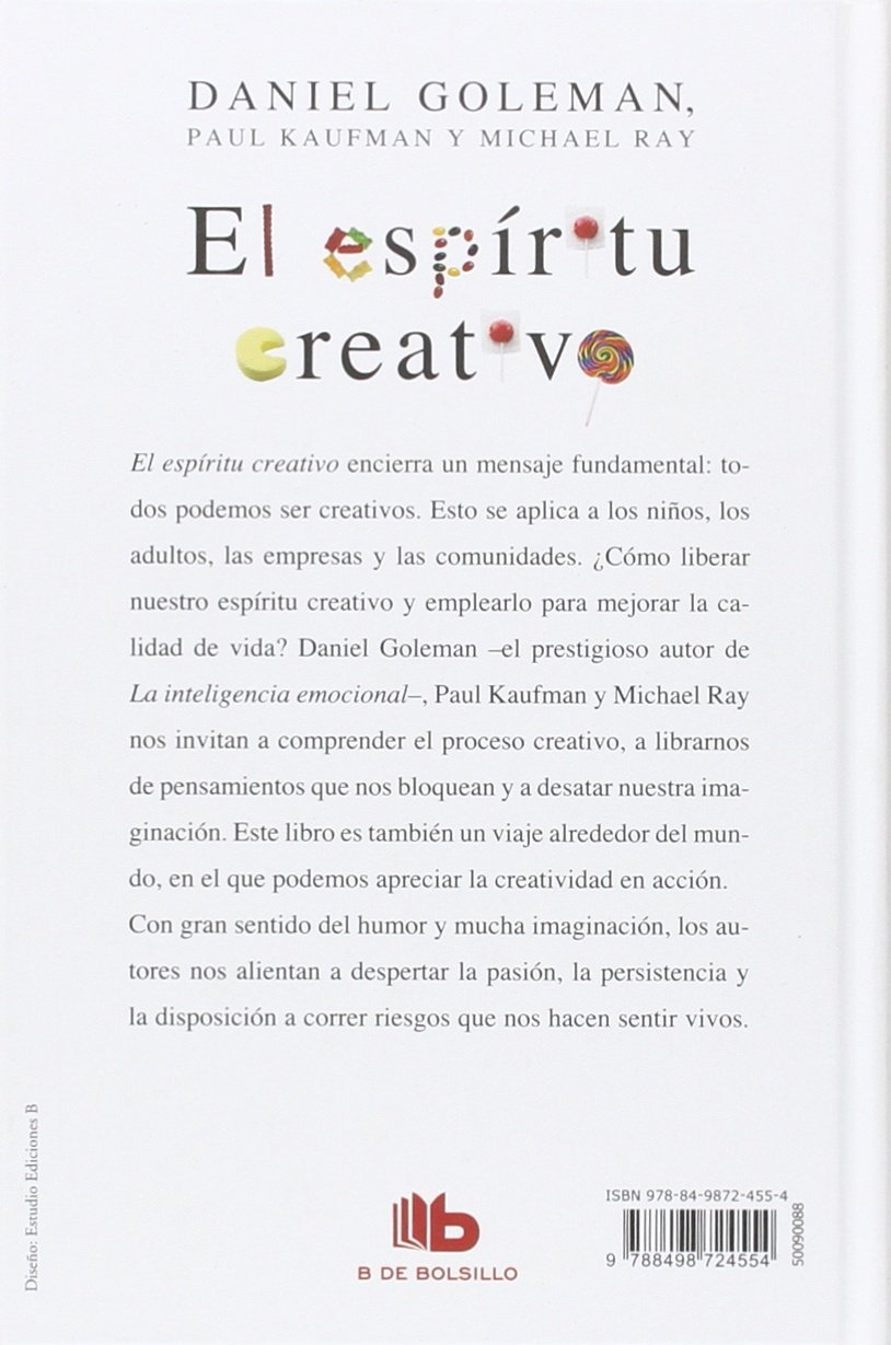 El espíritu creativo / The Creative Spirit (Spanish Edition ...