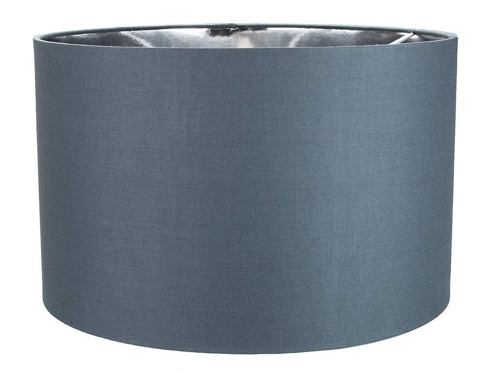 Contemporain en coton noir 12table//suspension abat-jour avec int/érieur dor/é brillant par Happy Homewares