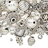 Bead and finding mix sterling silver mixed size and shape