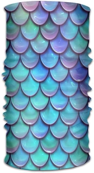 Mermaid Scales Galaxy Girls Bandana Headwear,Fashion//Sport Accessories