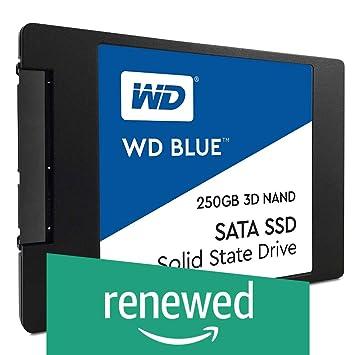 WD Blue 3D NAND WDS250G2B0A - Disco Duro SSD (250 GB, SATA III, 6 ...