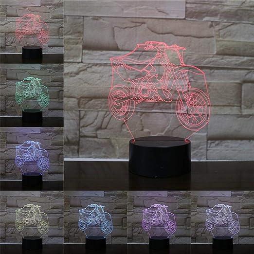 WWDDVH - Lámpara de Mesa 3D con luz Nocturna, para niños ...