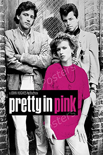 MCPosters Pretty In Pink GLOSSY FINISH Movie Poster - MCP253 (24