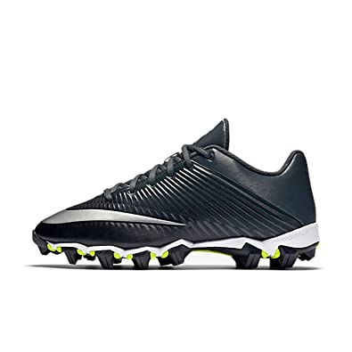 best cheap 2690a d0f31 Nike Boy s Vapor Shark 2.0 (GS) Football Cleat Black Anthracite Metallic  Silver