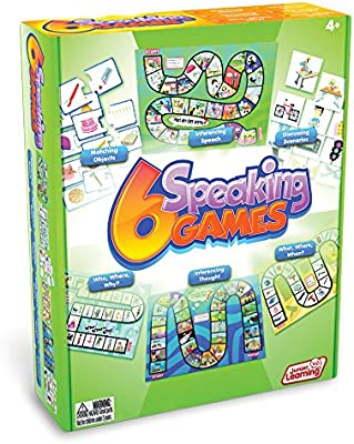 Amazon com: Junior Learning 6 Speaking Games: Toys & Games