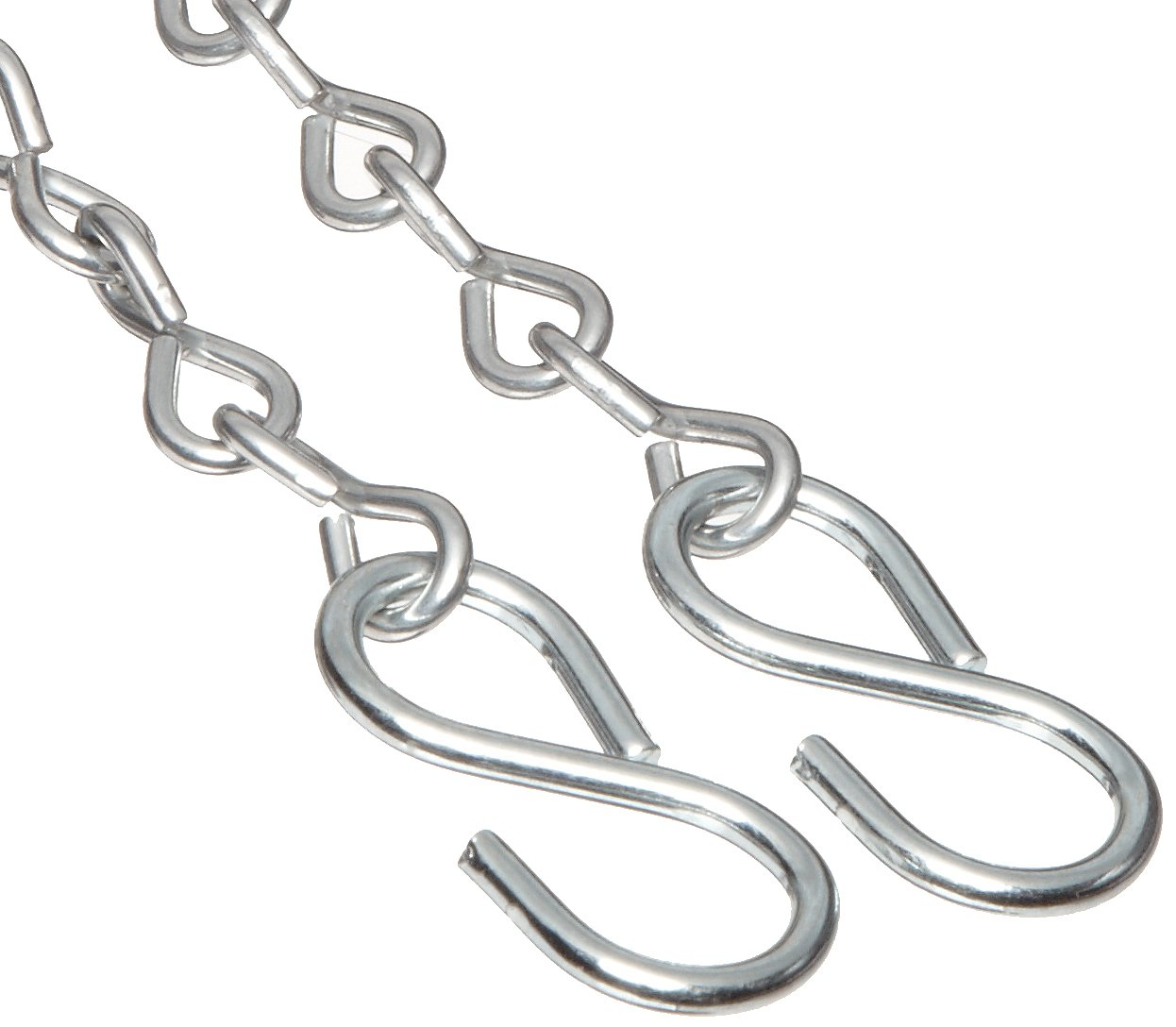 Dixon CH-SS-24 Stainless Steel Cam and Groove Hose Fitting 24 Length Jack Chain with S-Hook