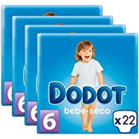 Pañales DODOT Talla 6 88 unidades (4 paquetes