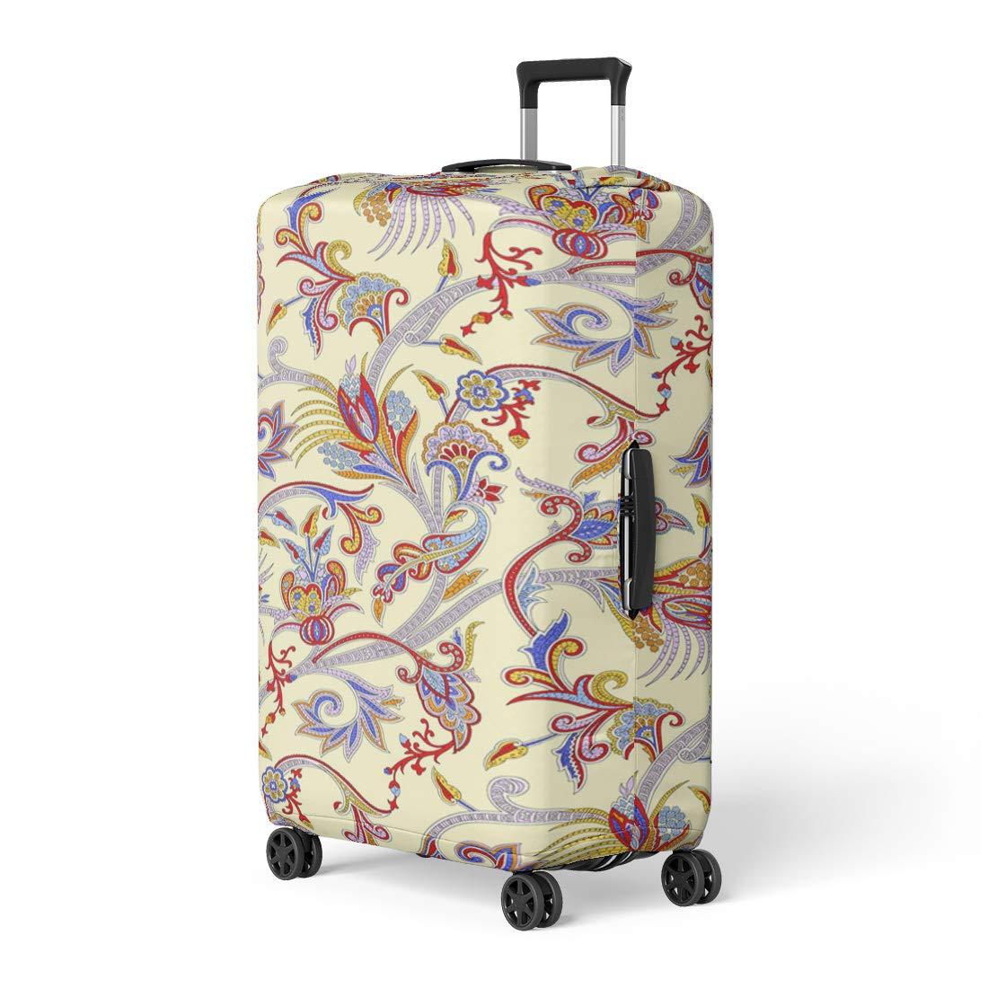 b0f4819f91ec Amazon.com: Pinbeam Luggage Cover Blue Colorful Mini Marshmallows ...