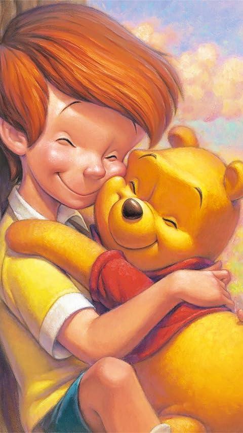 ディズニー クリストファー・ロビン&プー XFVGA(480×854)壁紙 画像64446 スマポ