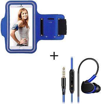 Pack Sport para Huawei P Smart Z Smartphone (Brazalete Deportivo + ...