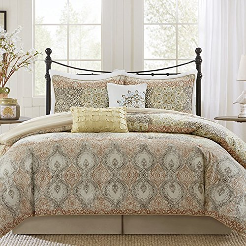 Harbor House Sanya 6 Piece Comforter Set Spice King