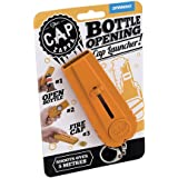 LMS Cap Zappa Beer Bottle Opener Cap Launcher Shooter By Spinning Hat Fire Cap Shoot Over -Orange