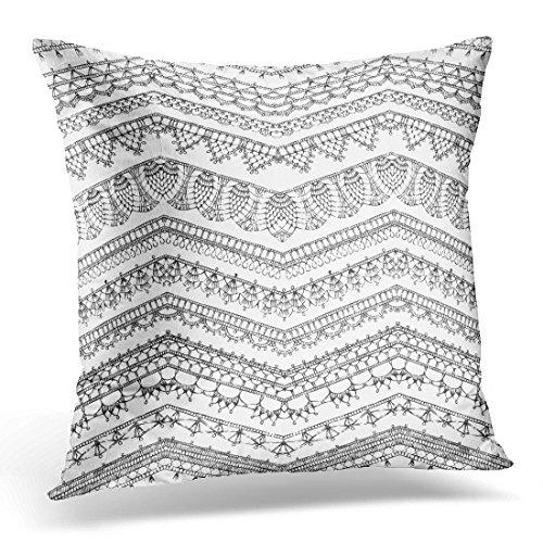 crochet edge pillow cases - 8