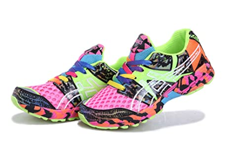 ec5cbb7ef YNAUKFW-Asics Women s Cushioning Gel Noosa Tri 8 Trail Road Running Sport  Competition Racing Shoes Footwear Sneakers In Camouflage Pink Orange  ...