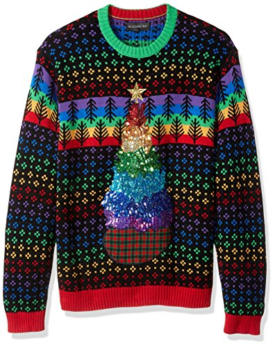 Blizzard Bay Men's Rainbox Tree Ugly Christmas Sweater, Large]()