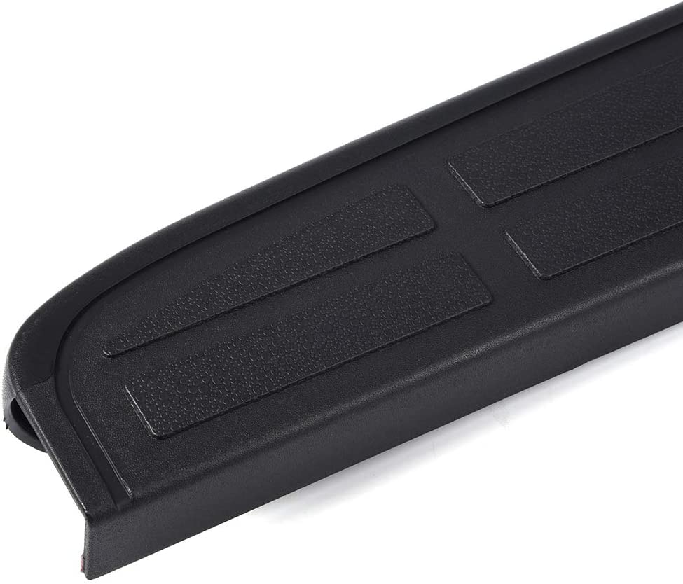 G-PLUS for Chevy Silverado GMC Sierra 1999 2000 2001 2002 2003 2004 2005 2006 Textured Black Tailgate Protector Spoiler Top Cap Molding Cover Hardware Included