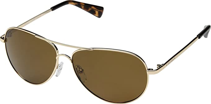 579a0abbe5 Image Unavailable. Image not available for. Colour  Cole Haan Women s Small  Aviator Gold Brown Metal Frame Polarized Sunglasses
