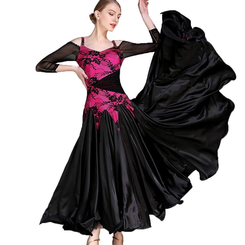 Las Mujeres Elegante Salón de Baile Vals Vestido de la Danza ...
