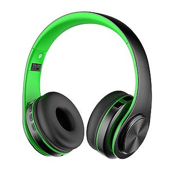 Alitoo Auriculares Inalámbricos Bluetooth Estéreo Plegable Auriculares de Diadema sobre Oreja Headphones con micrófono Cancelación de Ruido Cascos ...