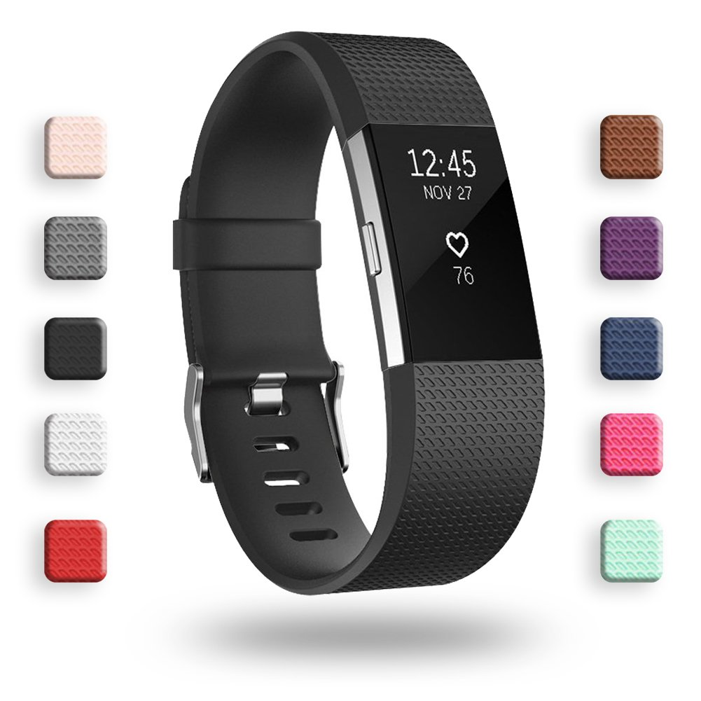 POY For Fitbit Charge 2 Bands, Classic & Special Edition Replacement bands  for Fitbit Charge