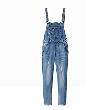 Amazoncom Woodin Denim Jumpsuit 2017 Womens Jeans Jumpsuit Girls
