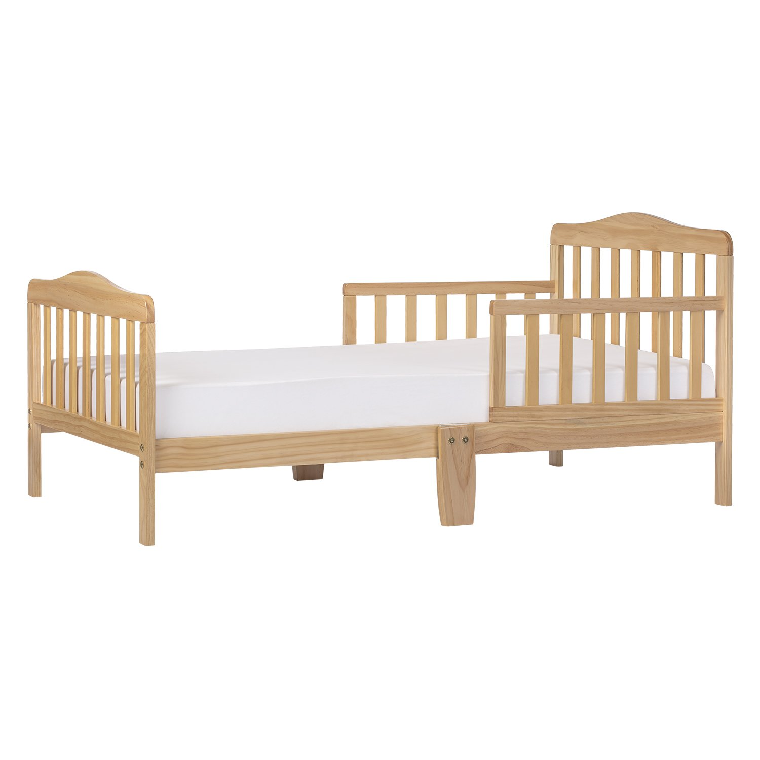 Dream On Me Classic Toddler Bed in Natural