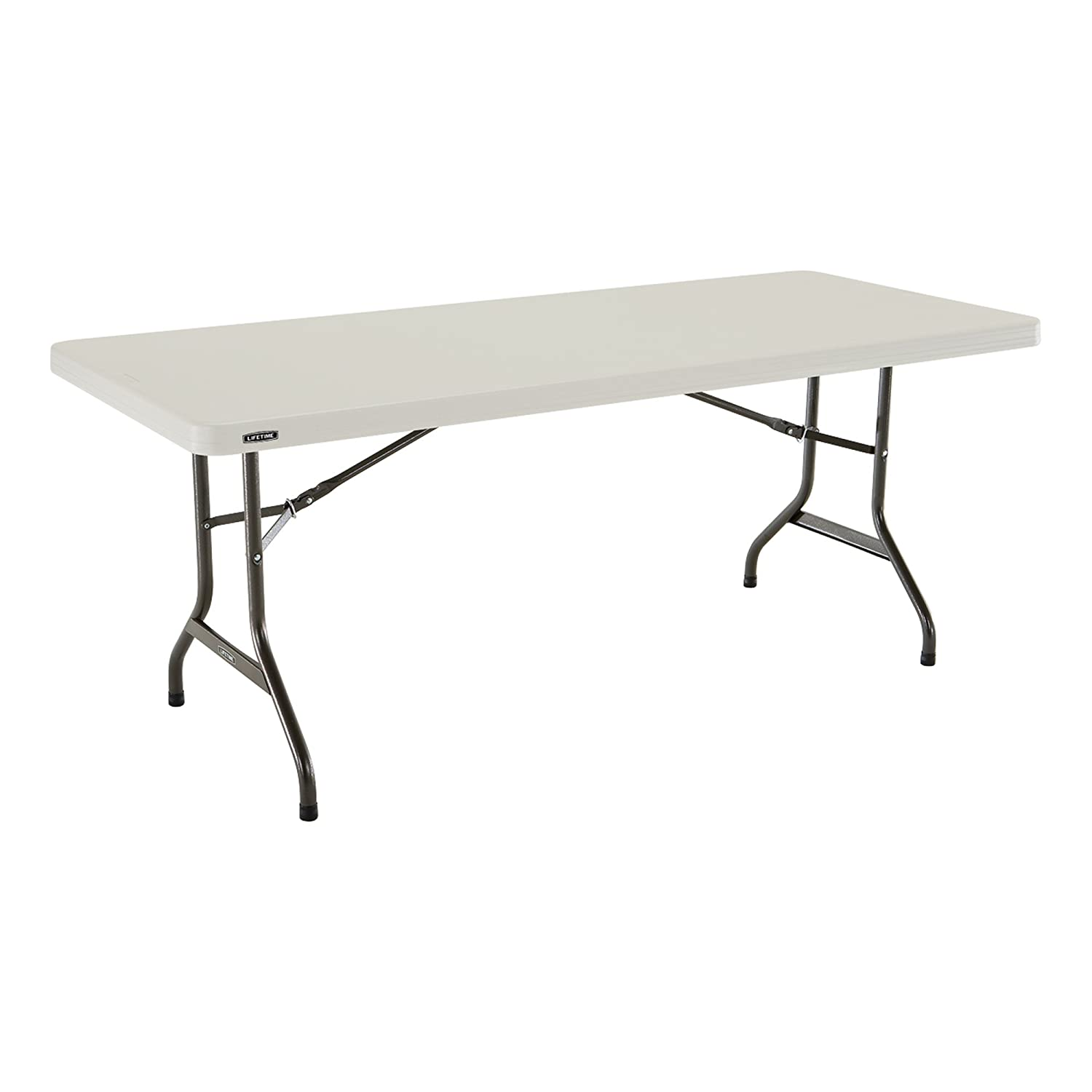 x ft table series rectangle rectangular folding blow classic molded solid plastic