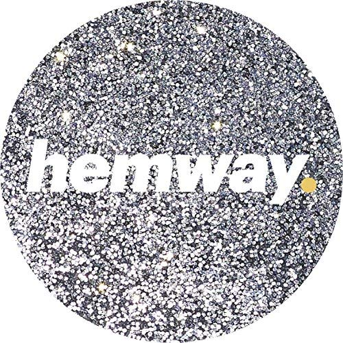 Hemway (Silver) Glitter Grout Tile Additive 100g for Tiles Bathroom Wet Room Kitchen | Easy to use - Add/Mix with Epoxy Resin or Cement Based Grout | Temperature Resistant