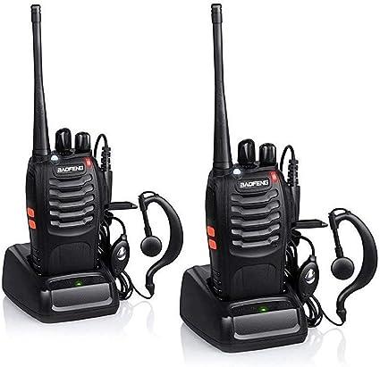 4 x Baofeng BF-888S Long Range Walkie Talkie Two-Way Radio Communication