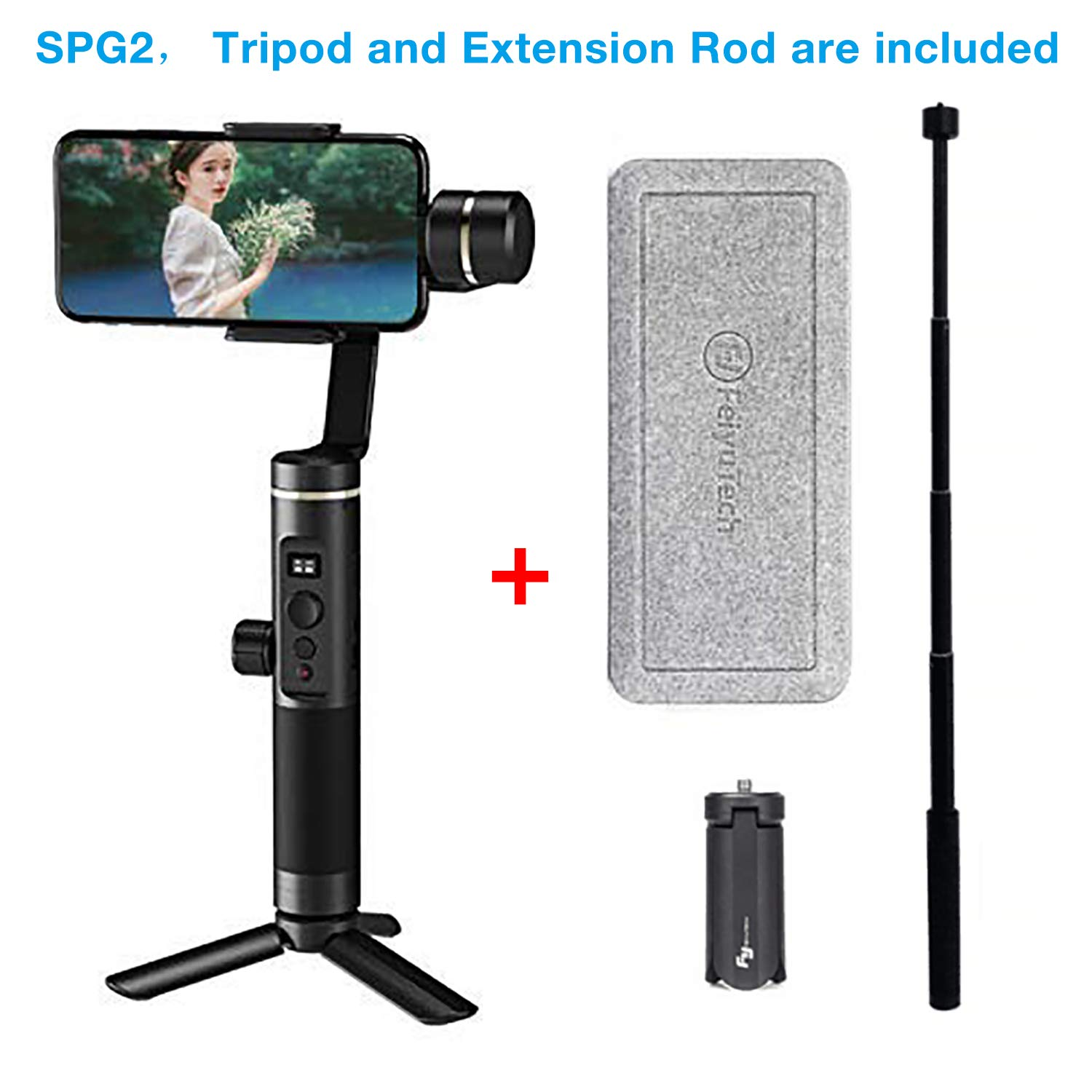 Feiyu SPG2 Axis Handheld Gimbal Stabilizer w/Focus Pull & Zoom for ...