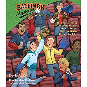 Ballpark Mysteries Collection: Books 1-5 Audiobook